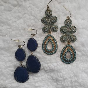 2 Pairs of Stella & Dot Earrings